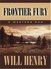 Cover of: Frontier Fury