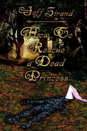 Cover of: How to Rescue a Dead Princess
