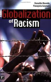 Cover of: The globalization of racism