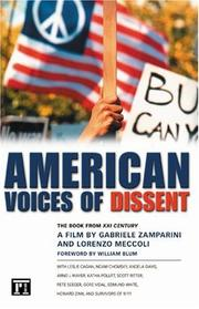 Cover of: American Voices Of Dissent