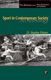 Cover of: Sport in Contemporary Society: An Anthology