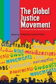 Cover of: The Global Justice Movement