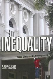 Cover of: Inequality: Social Class and Its Consequences
