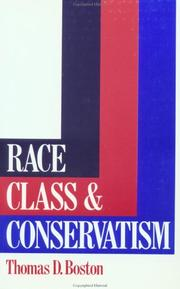 Cover of: Race, class, and conservatism
