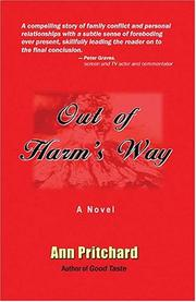Cover of: Out of Harm