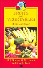 Cover of: Fruits and vegetables of the Caribbean