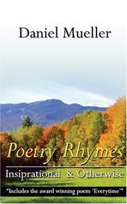 Cover of: Poetry Rhymes Inspirational & Otherwise