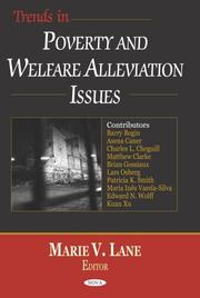 Cover of: Trends in poverty and welfare alleviation issues