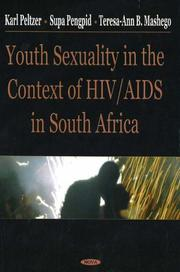 Cover of: Youth sexuality in the context of HIV/AIDS in South Africa