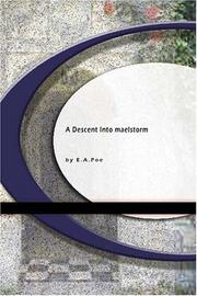 Cover of: A Descent into the Maelstrom