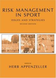 Cover of: Risk Management in Sport