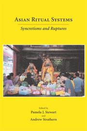 Cover of: Asian ritual systems