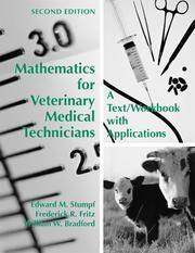 Cover of: Mathematics for Veterinary Medical Technicians | Edward M. Stumpf