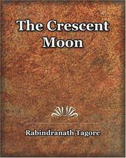 Cover of: The Crescent Moon (1913) | Rabindranath Tagore
