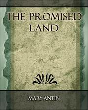 Cover of: The Promised Land - 1912 | Mary Antin