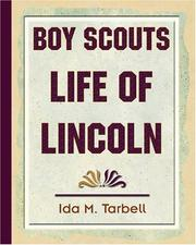 Cover of: Boy scouts' life of Lincoln