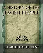 Cover of: A History of the Jewish People - 1917