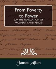 Cover of: From Poverty to Power (OR THE REALIZATION OF PROSPERITY AND PEACE)
