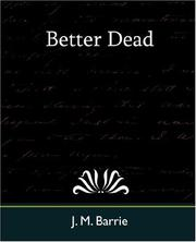 Cover of: Better dead