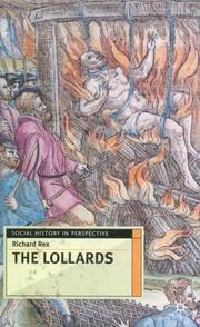 Cover of: The Lollards | Richard Rex