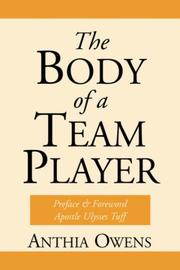 Cover of: The Body Of A Team Player | Anthia Owens