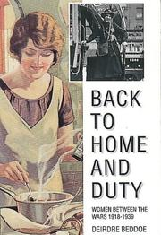 Cover of: Back to home duty