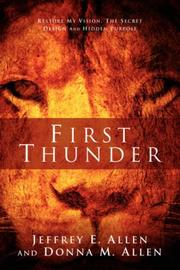 Cover of: First Thunder | Jeffrey E Allen