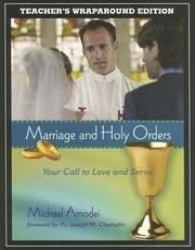 Cover of: Marriage and Holy Orders | Michael Amodei