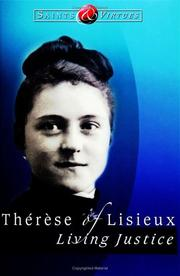 Cover of: Therese of Lisieux | Boniface Hanley