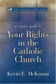 Cover of: A Concise Guide to Your Rights in the Catholic Church (Concise Guide)