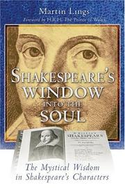 Cover of: Shakespeare's Window into the Soul