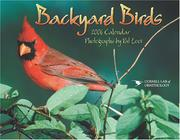 Cover of: Backyard Birds 2006 Calendar | Pat Looi