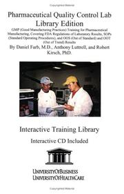 Cover of: Pharmaceutical Quality Control Lab Library Edition | Daniel Farb
