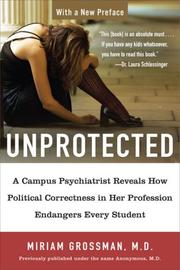 Cover of: Unprotected | Miriam Grossman