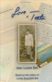Cover of: Love,teeta | Jean Louise Bell