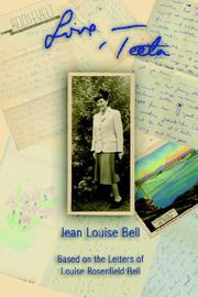 Cover of: Love, Teeta | Jean Louise Bell