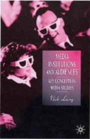 Cover of: Media Institutions and Audiences