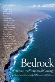 Cover of: Bedrock | Lauret E. Savoy