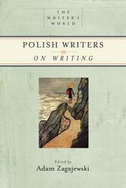 Cover of: Polish Writers on Writing (Writer's World, The)