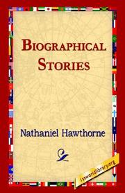 Cover of: Biographical Stories