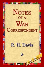 Cover of: Notes of a War Correspondent