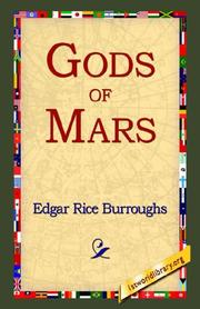 Cover of: The Gods of Mars (Martian Tales of Edgar Rice Burroughs)
