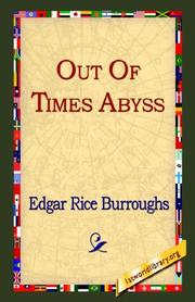 Cover of: Out of Time's Abyss