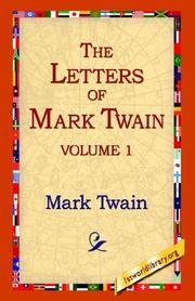 Cover of: The Letters Of Mark Twain | Mark Twain
