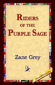Cover of: Riders of Purple Sage