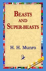 Cover of: Beasts And Super: Beasts
