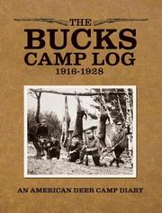 Cover of: The Bucks Camp Log | Marjorie Williams