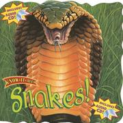 Cover of: Snakes! with CD (Audio) (Know-It-Alls)