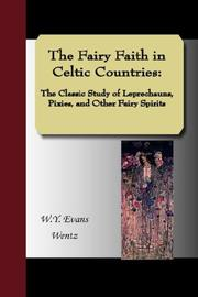 Cover of: The Fairy Faith in Celtic Countries