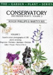 Cover of: Conservatory and indoor plants